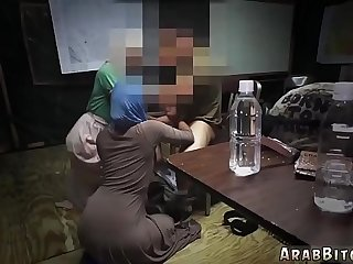 Arab playmate's sister and ass grope Sneaking in the Base!