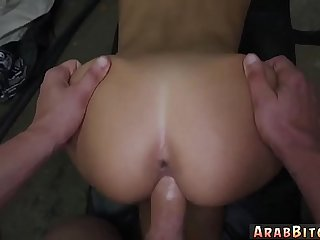 Arab lawyer girl fucking inside her office with and bus She could